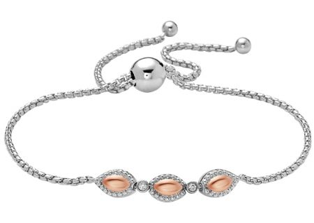 Charles Krypell Firefly Two-Tone Sterling Silver & Rose Gold Bracelet - 5-6965-FFSPD