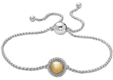Charles Krypell Firefly Two-Tone Sterling Silver & 18k Gold Bracelet - 5-6970-FFSG