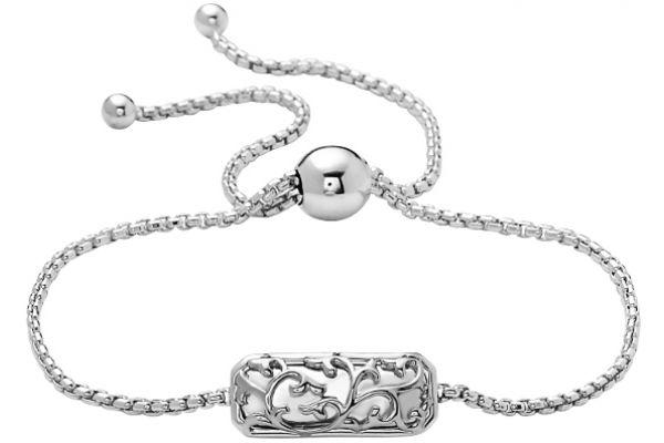 Charles Krypell Ivy Lace Sterling Silver Bracelet - 5-6973-ILS