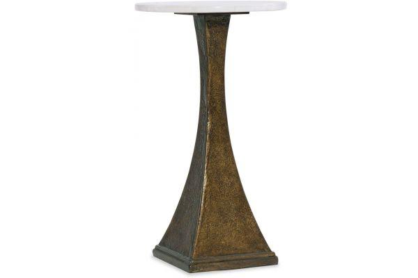 Large image of Hooker Furniture Living Room Boheme Antwerp Martini Table - 5750-50003-WH