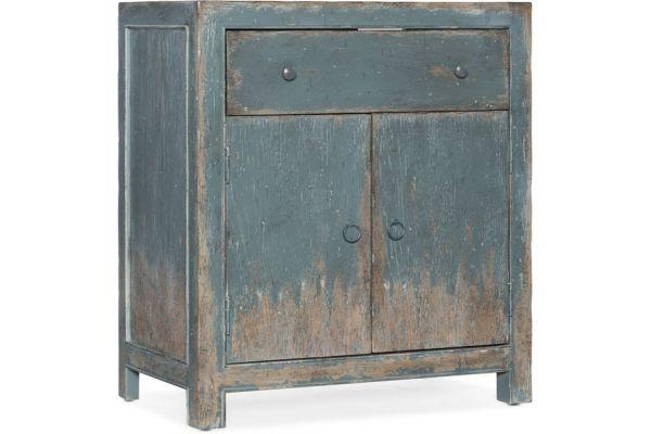 Large image of Hooker Furniture Living Room Boheme Castelle Accent Chest - 5750-50006-BLU