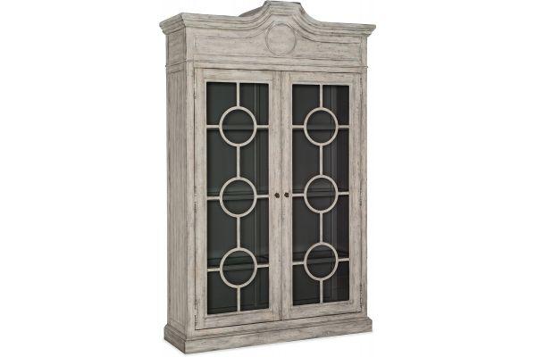 Large image of Hooker Furniture Dining Room Boheme Baptiste Display Cabinet - 5750-75906-LTWD