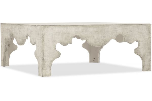 Large image of Hooker Furniture Living Room Boheme Flanders Square Cocktail Table - 5750-80112-LTWD