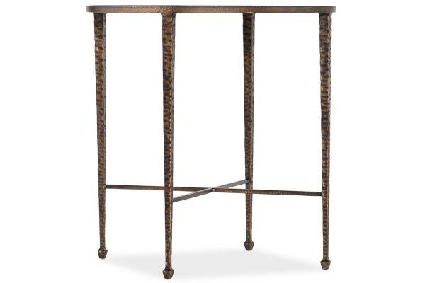 Large image of Hooker Furniture Living Room Boheme Liege End Table - 5750-80113-GLD