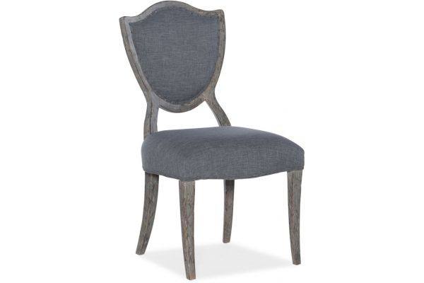 Large image of Hooker Furniture Dining Room Beaumont Shield-Back Side Chair - 5751-75411-95