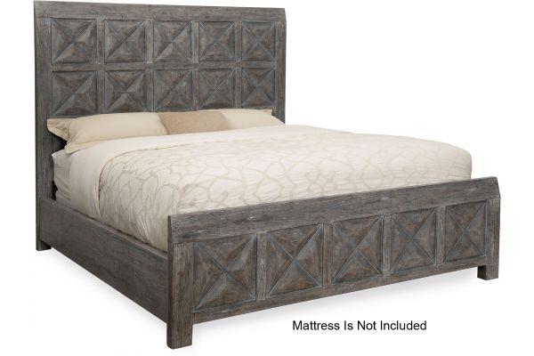 Large image of Hooker Furniture Bedroom Beaumont Queen Panel Bed - 5751-90250-95