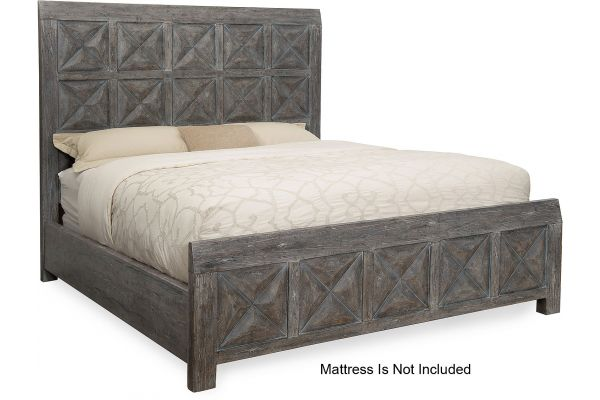 Large image of Hooker Furniture Bedroom Beaumont King Panel Bed - 5751-90266-95