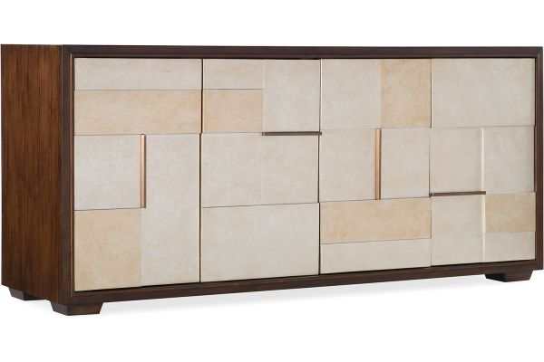 "Hooker Furniture Composition 69"" Home Entertainment Console - 5801-55469-00"