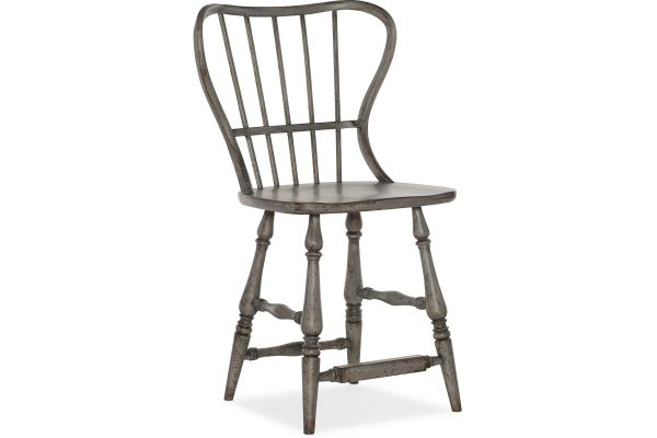Large image of Hooker Furniture Dining Room Ciao Bella Spindle Back Counter Stool - 5805-75351-96
