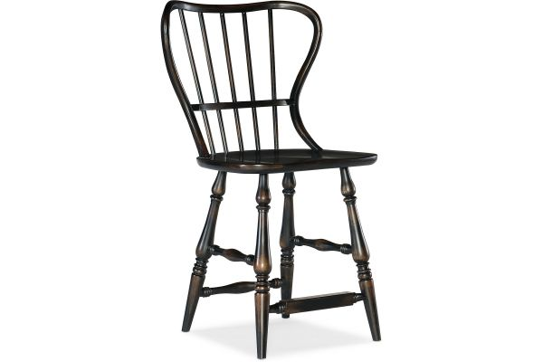 Large image of Hooker Furniture Dining Room Ciao Bella Spindle Back Counter Stool - 5805-75351-99