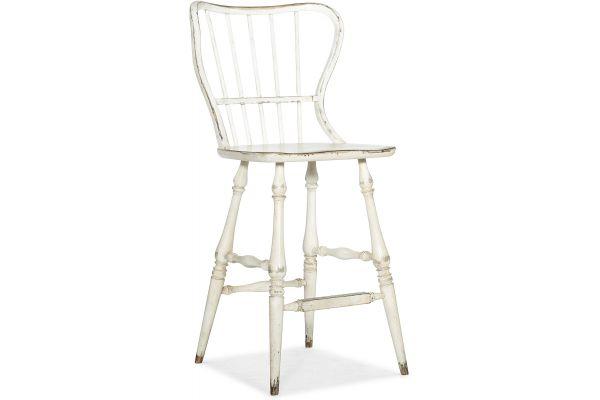 Large image of Hooker Furniture Dining Room Ciao Bella Spindle Back Bar Stool - 5805-75361-02