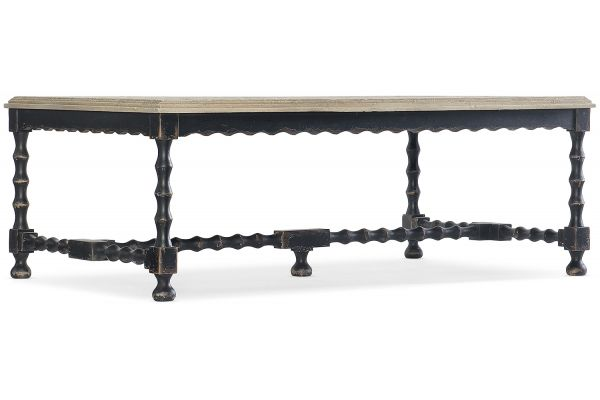 Large image of Hooker Furniture Living Room Ciao Bella Cocktail Table - 5805-80110-80