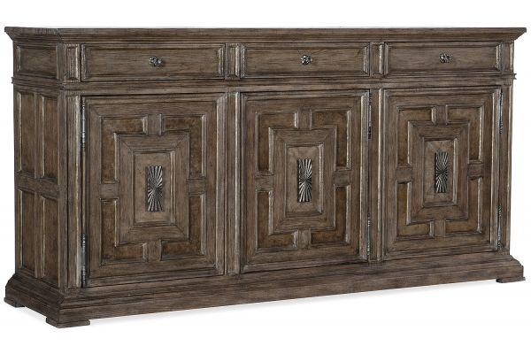 Large image of Hooker Furniture Dining Room Woodlands Buffet - 5820-75900-85