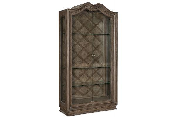 Large image of Hooker Furniture Dining Room Woodlands Display Cabinet - 5820-75906-84