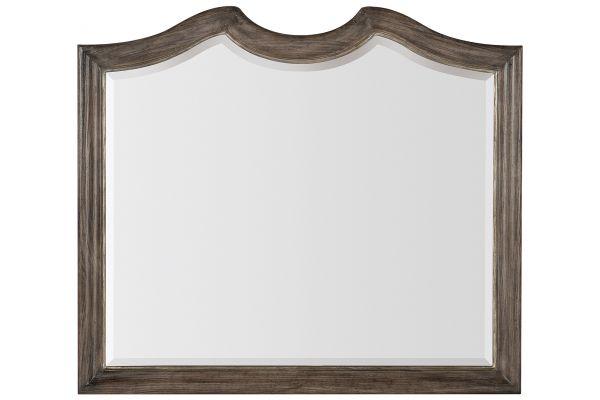 Large image of Hooker Furniture Bedroom Woodlands Mirror - 5820-90004-85