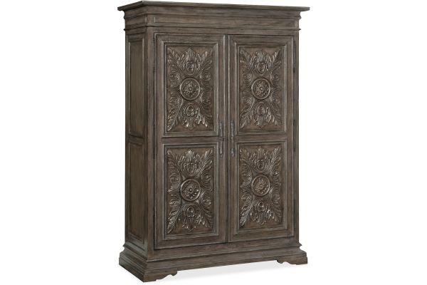 Large image of Hooker Furniture Bedroom Woodlands Wardrobe - 5820-90013-85
