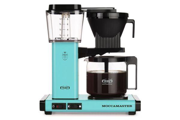 Large image of Technivorm Moccamaster Turquoise Coffee Maker - 59160