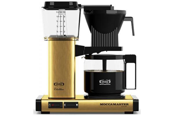 Technivorm Moccamaster Brushed Brass Coffee Maker - 59163