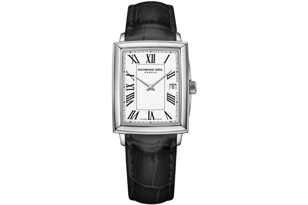 Large image of Raymond Weil Toccata Square White Dial Quartz Womens Watch - 5925STC00300