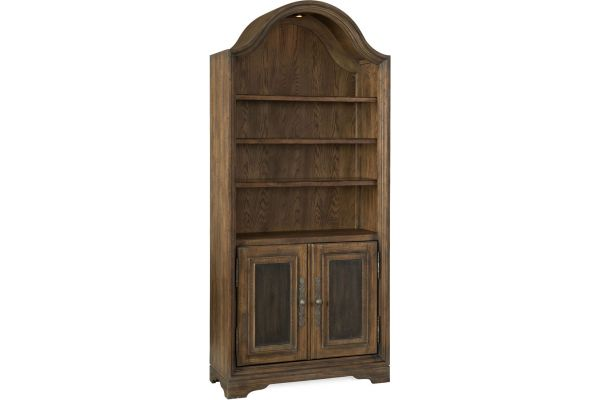 Large image of Hooker Furniture Home Office Pleasanton Bunching Bookcase - 5960-10446-MULTI