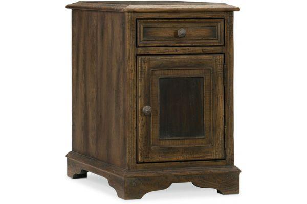 Large image of Hooker Furniture Living Room Dewees Chairside Table - 5960-50008-MULTI