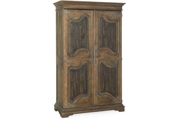 Large image of Hooker Furniture Bedroom Lakehills Wardrobe - 5960-90013-MULTI