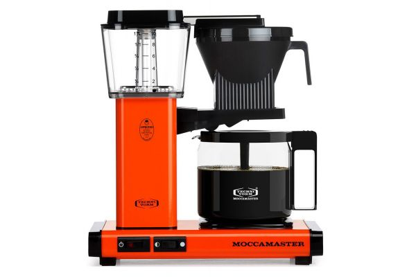 Large image of Technivorm Moccamaster Orange Coffee Maker - 59652