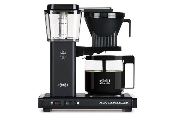 Large image of Technivorm Moccamaster Matte Black Coffee Maker - 59656
