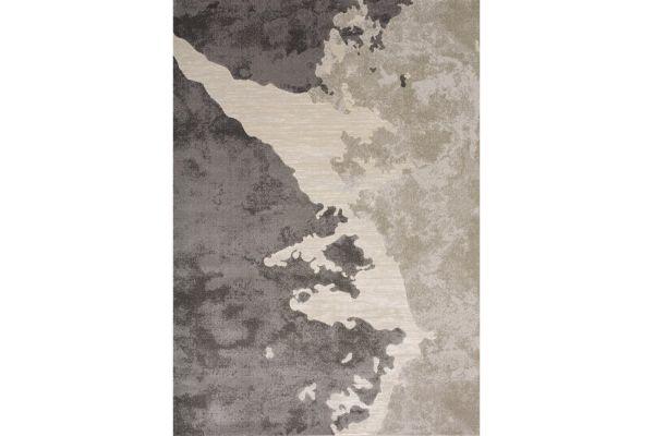 "Large image of Kalora Alaska 5'3"" X 7'7"" Beige Grey Rug - 5985/75 160230"