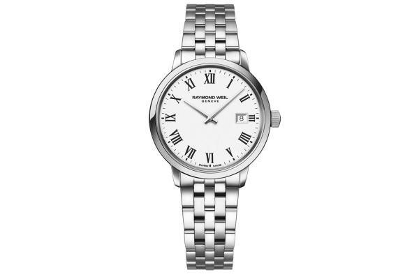 Raymond Weil Toccata Classic Steel Quartz Ladies Watch - 5985-ST-00300