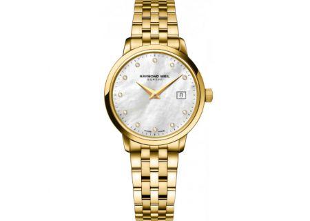 Raymond-Weil Toccata Yellow Gold Womens Watch - 5988P97081