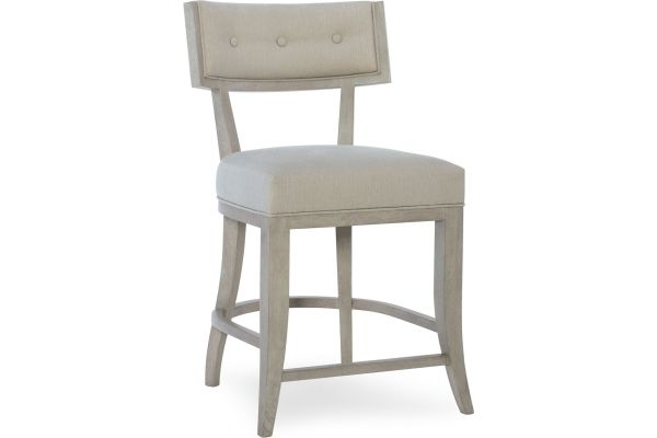 Hooker Furniture Dining Room Elixir Klismos Counter Stool - 5990-25350-LTWD