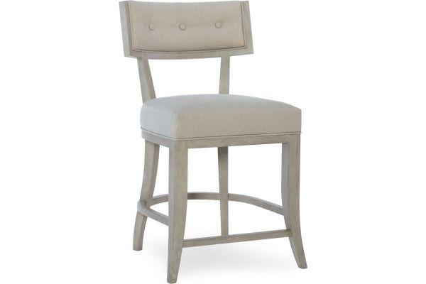Large image of Hooker Furniture Dining Room Elixir Klismos Counter Stool - 5990-25350-LTWD