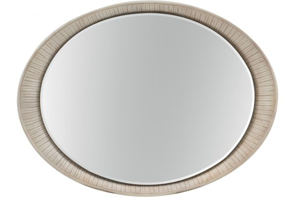 Large image of Hooker Furniture Bedroom Elixir Oval Accent Mirror - 5990-90007-MTL