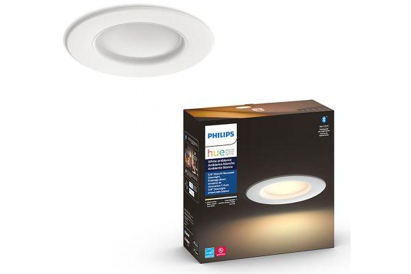 "Large image of Philips Hue 5/6"" White Ambiance Downlight - 59964/11/U5"