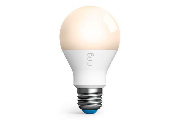 Large image of Ring Smart Lighting White A19 LED Bulb - B07YP9VK7Q