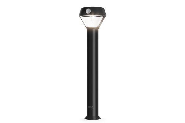Large image of Ring Smart Lighting Black Solar Pathlight - 5AT1S6-BEN0