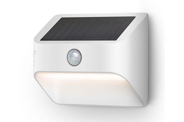 Large image of Ring Smart Lighting White Solar Steplight - B07YP9TF36