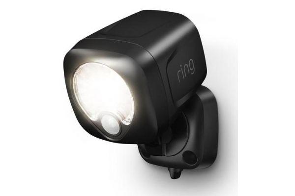 Large image of Ring Smart Lighting Black Spotlight Battery - B07KXBWWTN