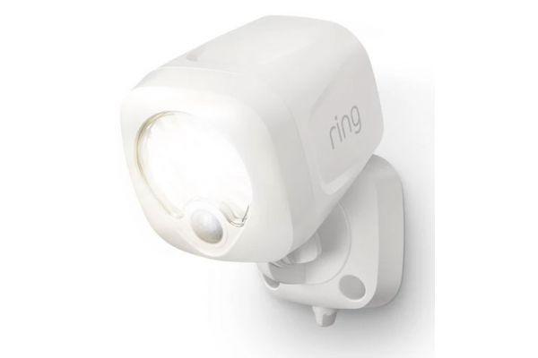 Large image of Ring Smart Lighting White Spotlight Battery - B07KXFVTYL