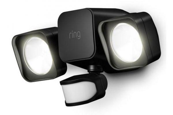Large image of Ring Smart Lighting Black Floodlight Battery - B07KXBX39M