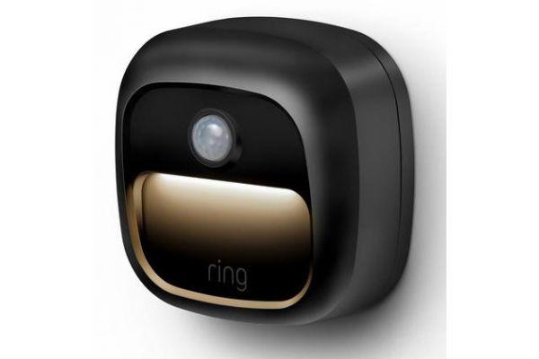 Large image of Ring Smart Lighting Black Steplight Battery - B07KXQ85NW
