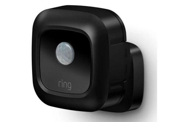 Large image of Ring Smart Lighting Black Motion Sensor - B07KXC4PZH