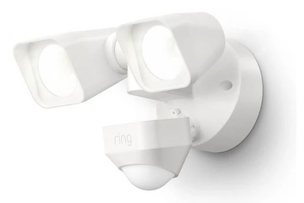Large image of Ring Smart Lighting White Floodlight Wired - 5W21S8-WEN0
