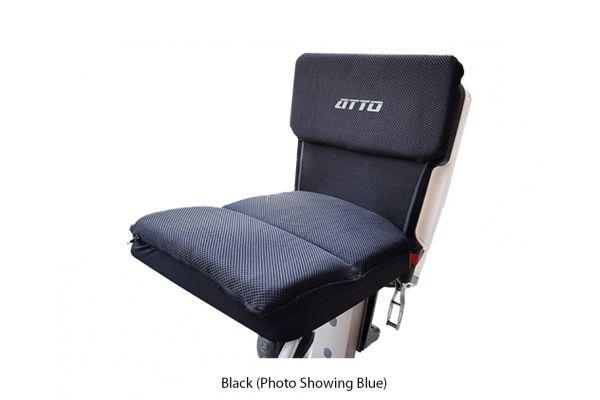 Large image of MovingLife Atto Black Seat Cushion - 600-004223