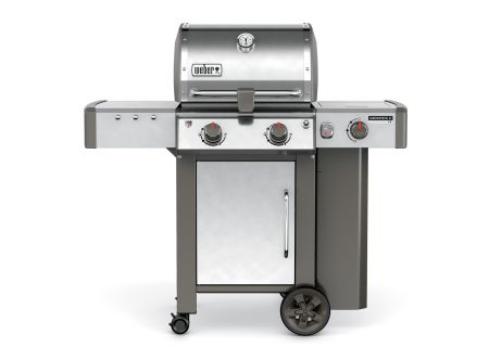 Weber Genesis II LX S-240 Brushed Stainless Steel Liquid Propane Gas Outdoor Grill - 60004001