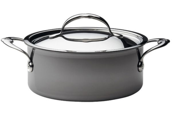 Hestan Nanobond Stainless Steel 3 Qt Covered Soup Pot - 60024