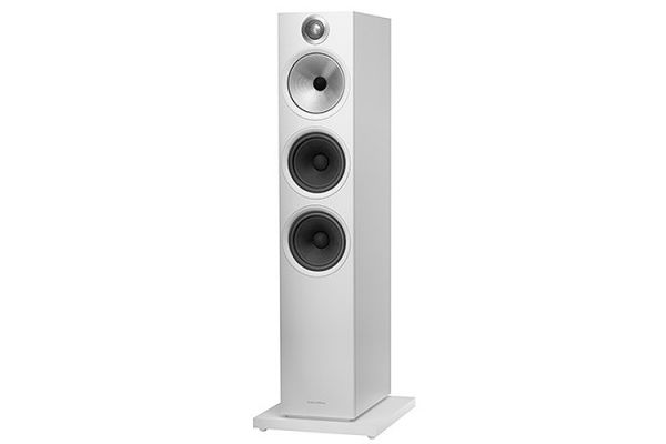 Bowers & Wilkins 603 Series White 3-Way Floorstanding Speaker (Each) - FP40770