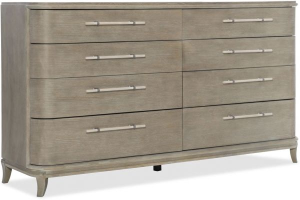 Large image of Hooker Furniture Bedroom Affinity Dresser - 6050-90002-GRY