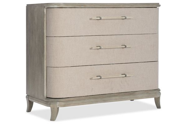 Large image of Hooker Furniture Bedroom Affinity Bachelors Chest - 6050-90017-GRY